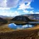mountains with lakes - huaraz