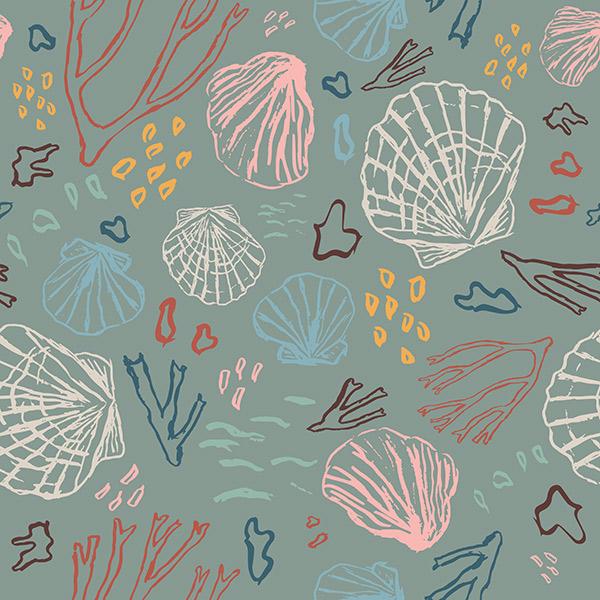 ocean pattern - deep sea treasures
