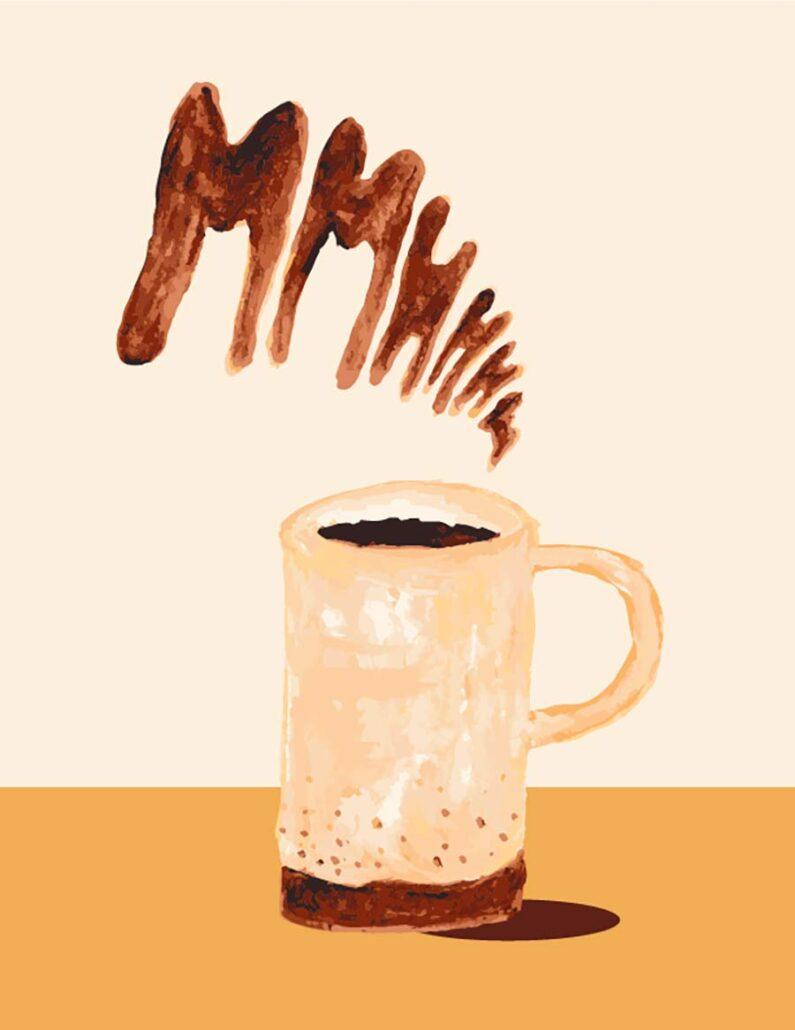 digital illustration - good mooorning