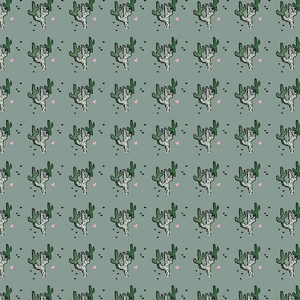 cactus pattern - prickly love