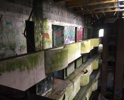 Azores abandoned building