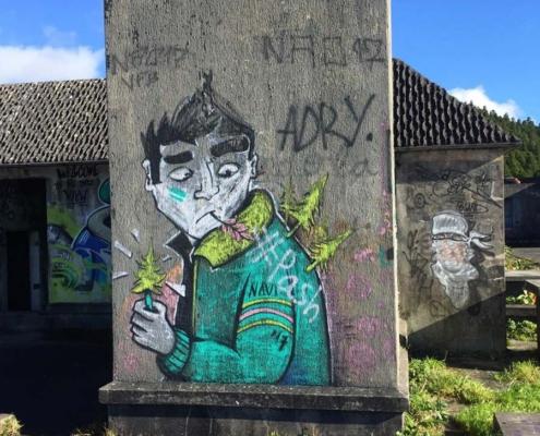 Azores graffiti