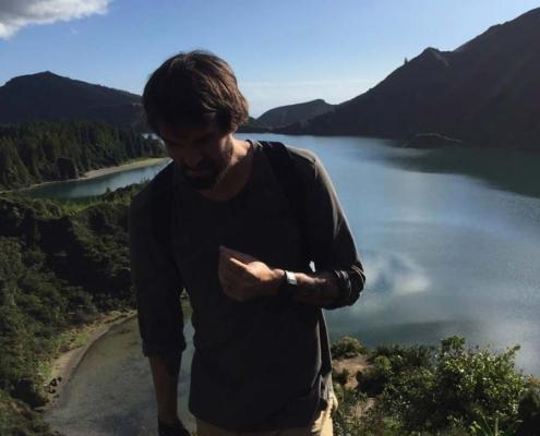 Azores hiker