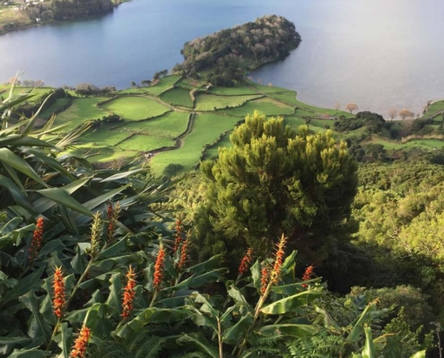 Azores beautiful view