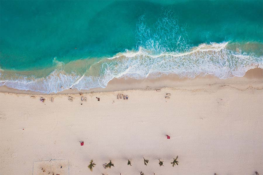 beach - blue mind