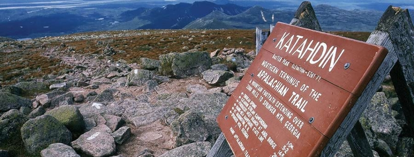 signpost mountains - country by foot
