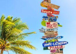 signposts - wanderlust