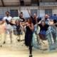 group at bubble football