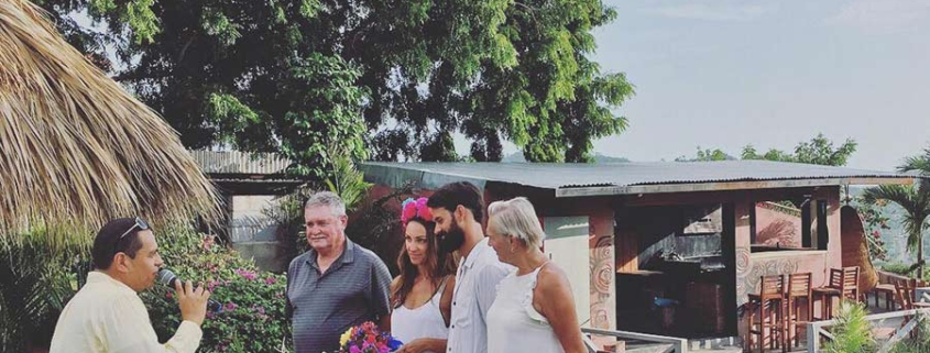 Wedding picture - Nicaragua