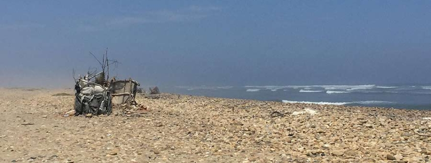 beach Peru - other side of travelling