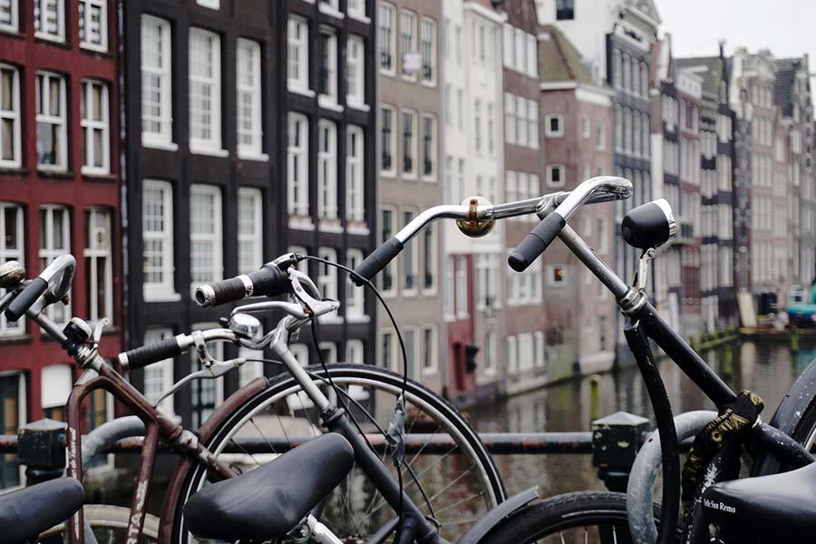 bikes in Amsterdam - sharing economy