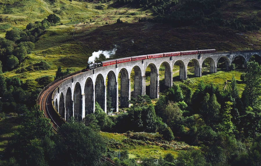 Luxurious Train Journey