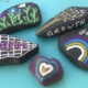 painted stones - designsoup by alix