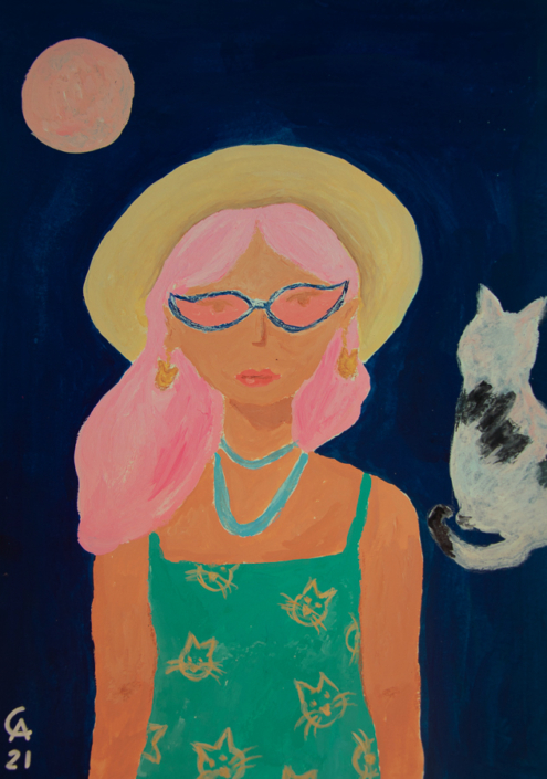 Pink Moon - designsoup by alix