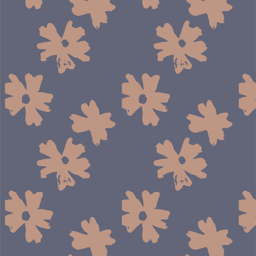 floral pattern - hello mallow