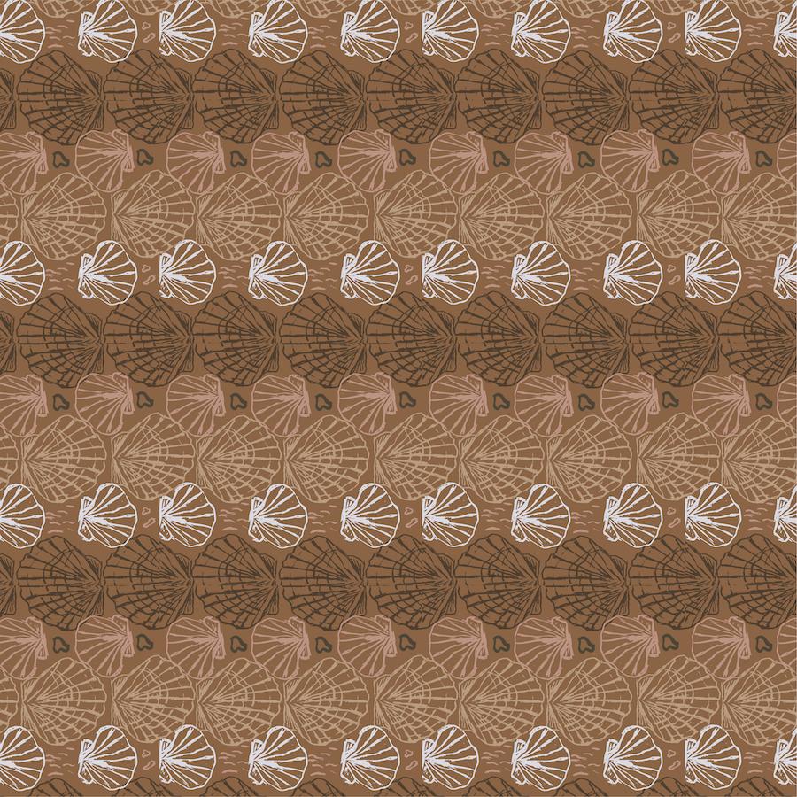 ocean pattern - sea of shells