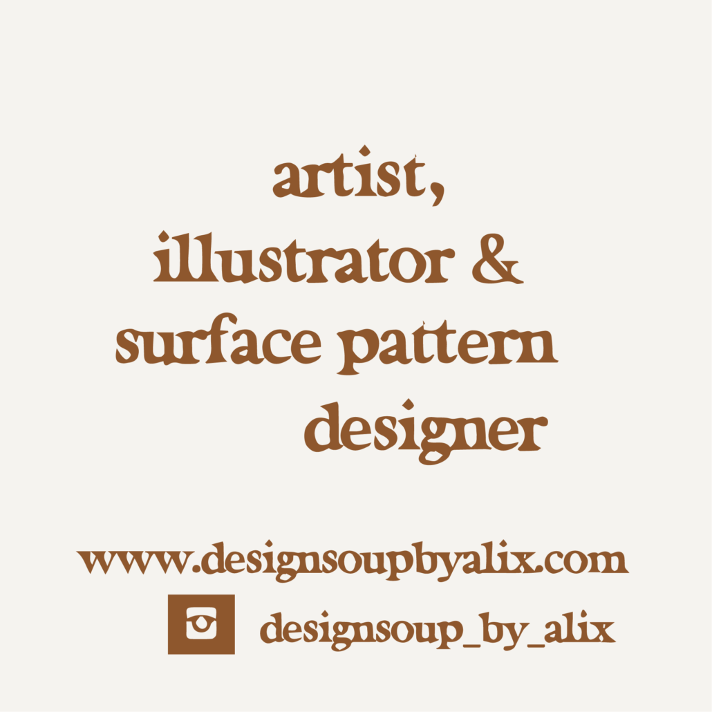business card - designsoup by alix