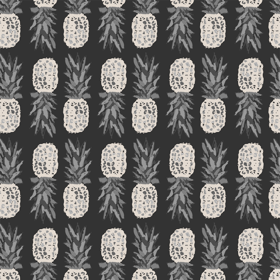 fruit pattern - pineapple obsession